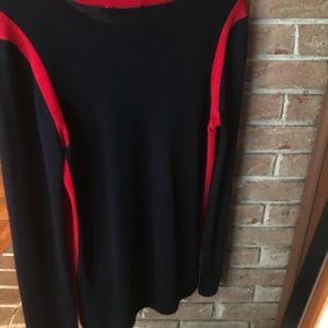 Tory Burch Sweaters - Tory Burch Navy Merino Sweater.